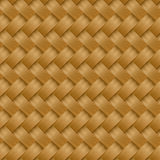 Cane woven fiber seamless pattern Stock Images