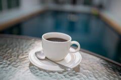 Caneca de café com associação Imagem de Stock