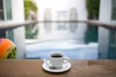 Caneca de café com associação Fotos de Stock