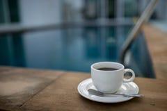 Caneca de café com associação Imagens de Stock
