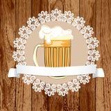 Caneca de cerveja Foto de Stock Royalty Free
