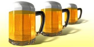 Caneca de cerveja Imagem de Stock
