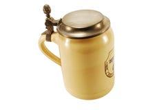 Caneca de cerveja cerâmica Imagem de Stock