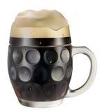 Caneca de cerveja escura imagens de stock royalty free