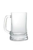 Caneca de cerveja vazia imagem de stock