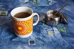 Caneca de chá Fotos de Stock Royalty Free