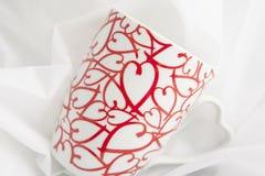 Caneca do coração Imagem de Stock Royalty Free