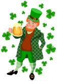 Caneca do dia do St Patrick Fotografia de Stock Royalty Free