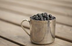 Caneca enchida com a uva-do-monte Imagem de Stock Royalty Free