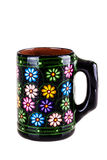 Caneca floral Imagens de Stock