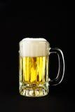 Caneca fria de cerveja imagem de stock