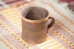 Caneca handcrafted tradicional Fotos de Stock