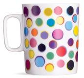 Caneca manchada do chá do café do divertimento   Imagem de Stock Royalty Free