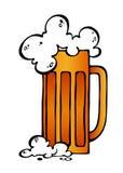 Caneca para cerveja ilustração royalty free
