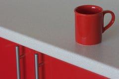 Caneca vermelha Foto de Stock Royalty Free