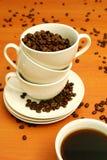 Canecas de café Foto de Stock Royalty Free