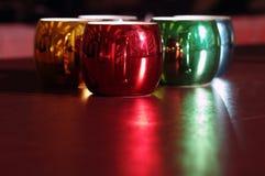 Canecas de café coloridas e sazonais Fotos de Stock Royalty Free