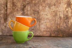 Canecas de café Foto de Stock