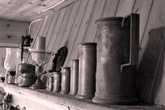 Canecas de cerveja velhas Fotografia de Stock