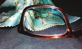 Canecas transparentes vazias imagens de stock