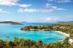 Caneel Bay. Tranquil Caneel Bay, St. John, Virgin Islands Stock Image