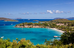 Caneel Bay on St John Royalty Free Stock Images