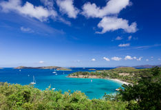 Caneel Bay on St John Royalty Free Stock Photos