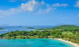 Caneel Bay on St. John US Virgin Islands Stock Photo