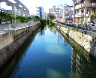 Canel - Okinawa. Canel in sunny day in Okinawa, Japan Stock Photo