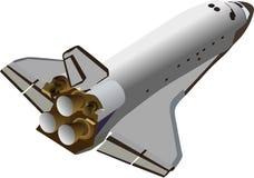 Canela de espaço ilustração stock