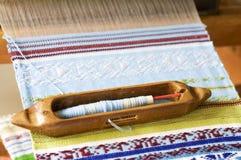 Canela de tecelagem Imagem de Stock