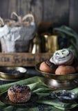 Canela hecho en casa dulce fresco Rolls Foto de archivo libre de regalías