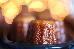 Canele cake Royalty Free Stock Photos