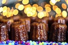 Canele-Kuchen lizenzfreie stockfotos