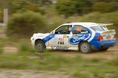 """CANELONES, †de URUGUAY """"16 de septiembre de 2018: Rally's de Atlantida, coche número 130 Fotos de archivo"""