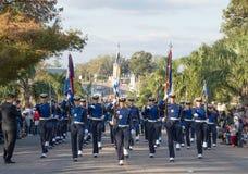 """CANELONES, URUGUAY € """"18 MEI, 2018: Luchtmachtbataljon van Uruguay, verjaardag 207 van Batalla DE las Piedras Royalty-vrije Stock Fotografie"""