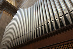 Canes of an church organ Royalty Free Stock Photos