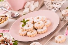 Canestrelli biscuits. stock photography