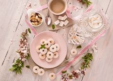 Canestrelli biscuits. royalty free stock photography