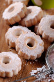 Canestrelli, traditional Italian cookies Royalty Free Stock Image