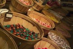 Canestri di Candy Fotografie Stock