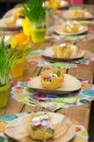 Canestro del formaggio con insalata Fotografia Stock