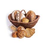 Canestro del pane Fotografia Stock