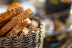 Canestro del pane Fotografie Stock Libere da Diritti