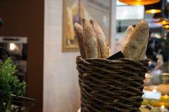 Canestro del pane Immagine Stock