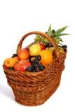 Canestro di frutta Immagine Stock