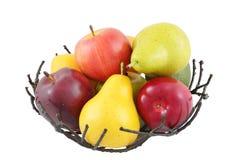 Canestro di frutta Fotografie Stock
