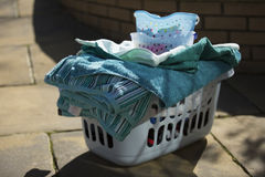 Canestro di lavaggio Fotografie Stock