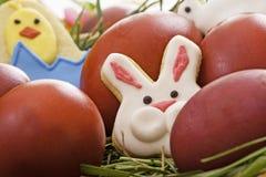 Canestro di Pasqua Immagine Stock
