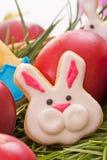 Canestro di Pasqua Fotografia Stock